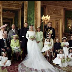 Първите официални сватбени фотографии на Меган Маркъл и принц Хари