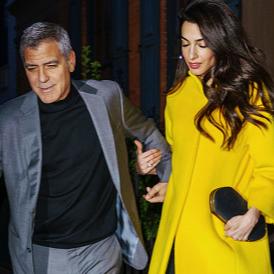 Носим жълто като Амал Клуни