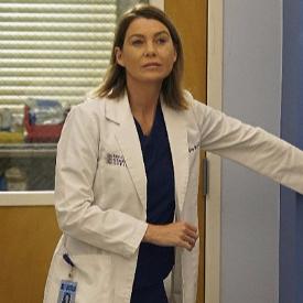 """Елън Помпео като Мередит Грей в """"Анатомията на Грей"""""""