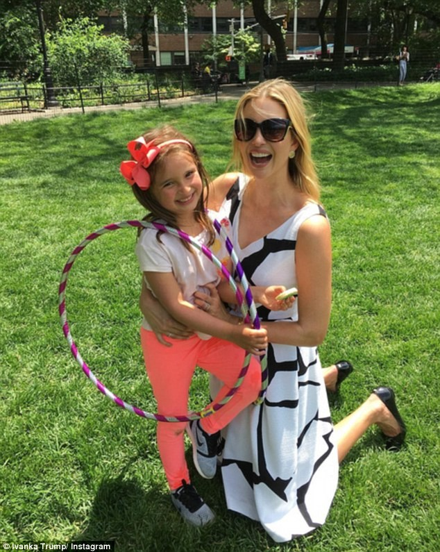 Иванка Тръмп с дъщеря си Арабела