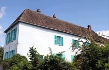 La Maison Bleue на Клод Моне