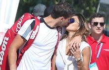 Никол и Григор потвърдиха връзката си в началото на годината, когато тениситът игра в Австралия