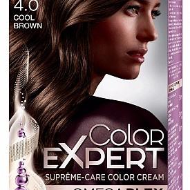 За основния цвят заложете на новата революционна формула на SCHWARZKOPF Color Expert, която е с технология Omegaplex против накъсване на косъма. Тя едновременно боядисва и подсилва косата. Нанася се в три стъпки: серум против накъсване, който се смесва с боята и предпазва по време на боядисване, запечатващ възстановител, който възстановява косъма в дълбочина и запечатва интензивността на цвета, и поддържащ възстановител, който се използва след 3 седмици за освежаване и подсилване на цвета. Предлага се в 20 нюанса. 11.99 лв.