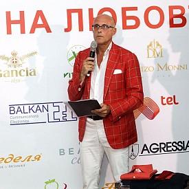 Италианският дизайнер и стилист Алберто Веделаго.