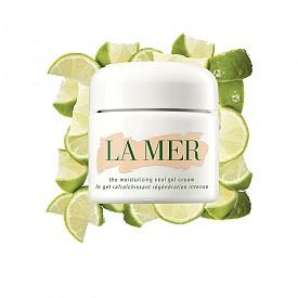 """Най-добрият хидратиращ крем е The Moisturizing Cool Gel Cream на LA MER: """"Сещате се за онова чувство, когато сте жадни и някой ви подаде чаша студена вода? Този продукт ви дава същото хладно, освежаващо усещане, но в бурканче и за кожата ви."""", Карин Хелмън, козметичен редактор на ELLE Швеция"""