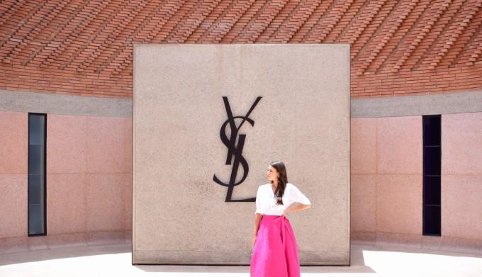 Разходка в музея на Yves Saint Laurent в Маракеш