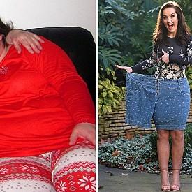 ДЖЕНИФЪР ГИНЛИ – СВАЛИЛА 67 кг. / Джен е отслабнала, за да изглежда прекрасно на сватбените си фотографии. Бъдещият й мъж нееднократно й правел предложение за брак, но тя отказвала, защото не искала да изглежда огромна булка. Мотиватор за отслабването й станал нейния блог.