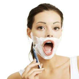 """Учените: """"Жените да си бръснат лицето, за да нямат бръчки!"""""""