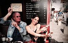 """Фотографът Маргарита Русева и писателят Раймондо Варсано. След успеха на фото-книгата """"Далечни песни"""", двамата творци отново колаборират в необичаен проект –  """"Context""""."""