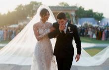 Двете сватбени рокли на Приянка Чопра
