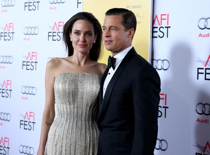 Анджелина и Брад
