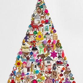 Коледна декорация за стена на MYK