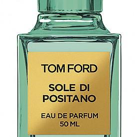 Луксозният парфюм TOM FORD Private Blend Sole Di Positano – зелен цитрусово-флорален, седмият от колекцията Neroli Portofino. Докоснат от слънцето аромат, който ни води към Позитано, а защо не и към близкия о. Капри? 50мл, 369лв.