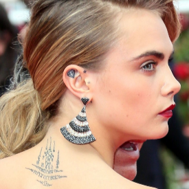Шантавите татуировки на звездите