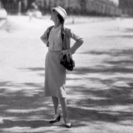 Коко Шанел на площад Вандом