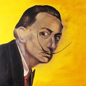 """Картина от изложбата на Сандра Блажева """"Арт Икони"""""""