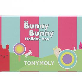 Bunny Bunny Holiday Box, TONYMOLY / SEPHORA - парфюмен стик, глос ябълка и глос череша.