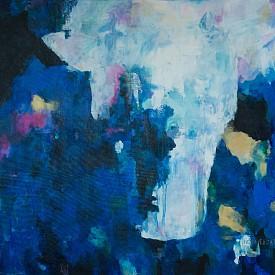 Сенките на новото начало, 122 x 138 cm
