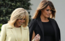 Бриджит Макрон смята, че Мелания Тръмп има добро чувство за хумор