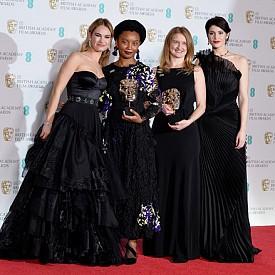 ДРЕСКОД: Черно! Най-добре облечените от червения килим на BAFTA