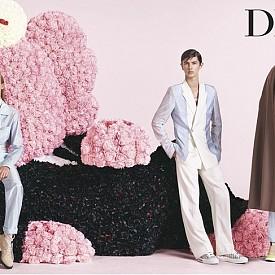 Датският принц Николай в новата рекламна кампания на Dior Homme