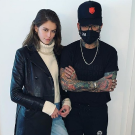 Какво означава татуировката на Кая Гербер?