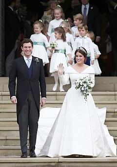 Сватбената тиара на принцеса Юджини
