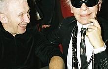 """Жан Пол Готие - """"Цялото ми уважение към този велик герой на модата, който създаде история. Дизайнер, стилист, фотограф. Карл, вие преливахте от талант и бяхте живият живот. Вие счупихте всички рекорди за дълголетие в модата и ще ни липсвате много."""""""