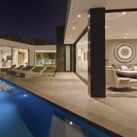 Домът на Келвин Клайн в Лос Анжелис