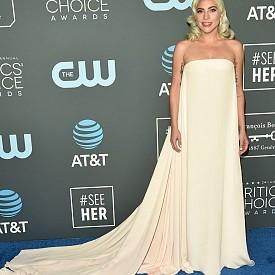 Лейди Гага в Calvin Klein