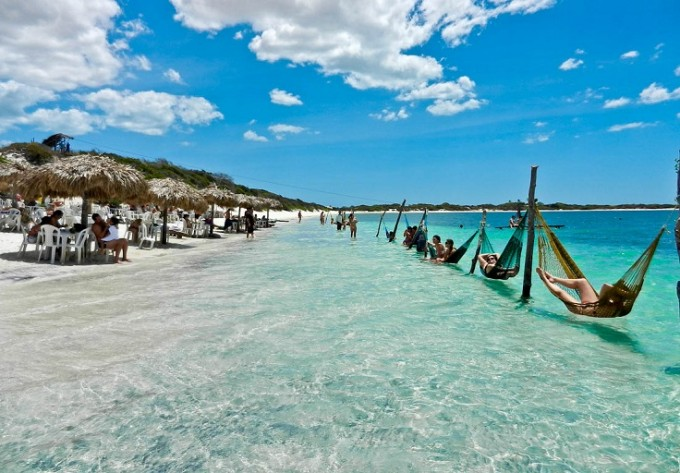 JIJOCA DE JERICOACOARA /  Това е друг красив плаж, с който...