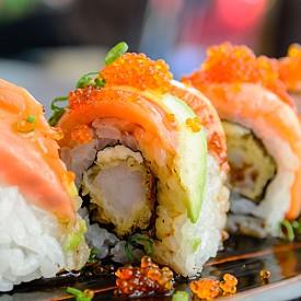 """8. Sushi bar. Заведенията """"all you can eat"""" за суши са навсякъде в Милано. Този, в който най-често ходя, е Kyo Fusion."""