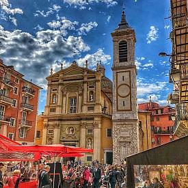 Старата част на Ница