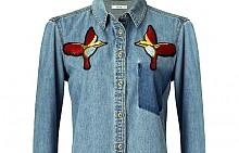 Дънкова риза MANGO