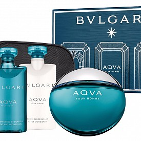 BVLGARI Aqua Pour Homme: парфюм, душ-гел и балсам за след бръснене
