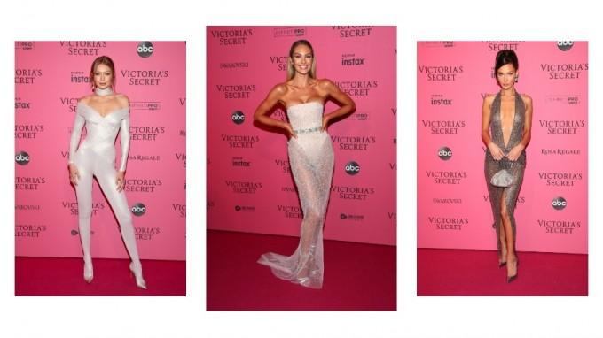 Розовият килим на шоуто на Victoria's Secret