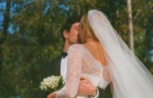 Карли Клос сподели снимки от сватбата си