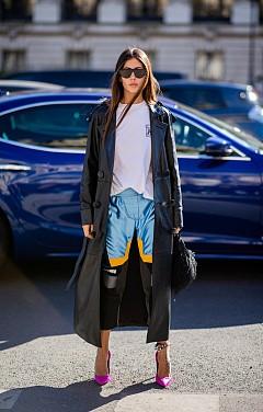Street Style с дързък вкус от Джилда Амбросио