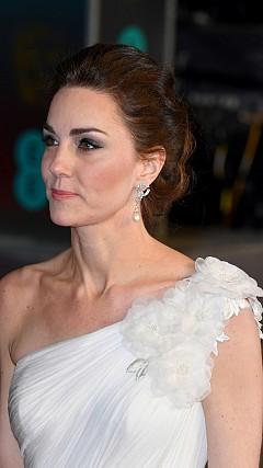 Кейт Мидълтън на червения килим на BAFTA 2019