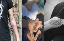 Татуировките на Бруклин Бекъм