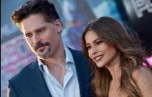София Вергара и Джо Манганиело на премиерата на Rampage: Унищожителите