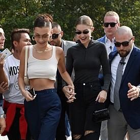 Models Off Duty: Кендал, Джиджи и Бела в Милано