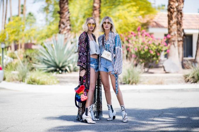 71 свежи street style визии от Coachella