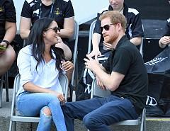 Меган Маркъл и принц Хари за пръв път публично заедно