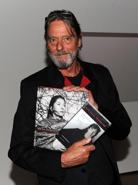 Немският артист Улай, с когото се среща през 1975 година.