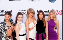 Актрисата и певица Зендая, актрисата Хайли Стейнфиелд, Тейлър Суифт,  моделът Лили Алдридж и моделът Марта Хънт