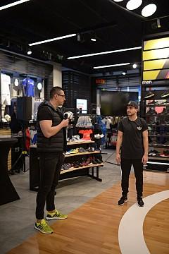 БГ съзвездие на откриването на adidas Home Court