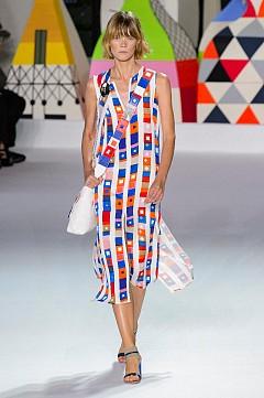 Цветно райе за лятото от модния подиум