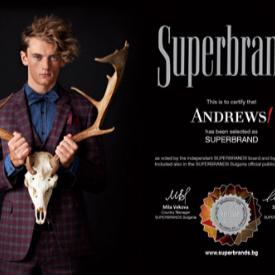 Andrews/ е Superbrand на България за 2015–2016 г.