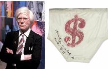 1 милион долара за гащите на Анди Уорхол